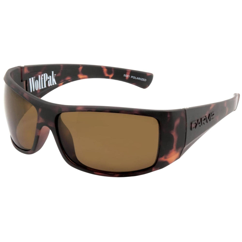 Carve Wolfpak Floating Hydrophobic Polarized Sunglasses Matt Tortoise N/A - Square/Rectangular Sunglasses by Carve