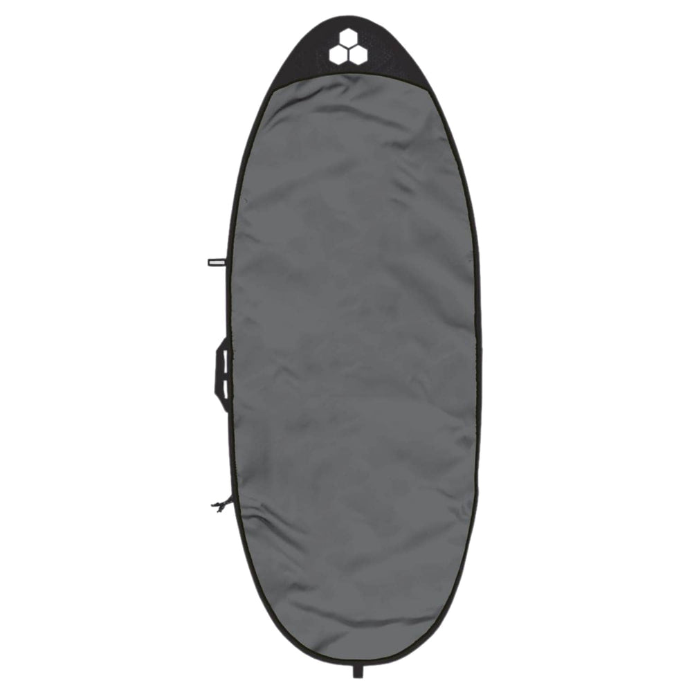 Channel Islands 6ft 1in Feather Lite Funboard Bag/Cover Charcoal - Surfboard Day Runner Bag/Cover by Channel Islands 6ft 1in