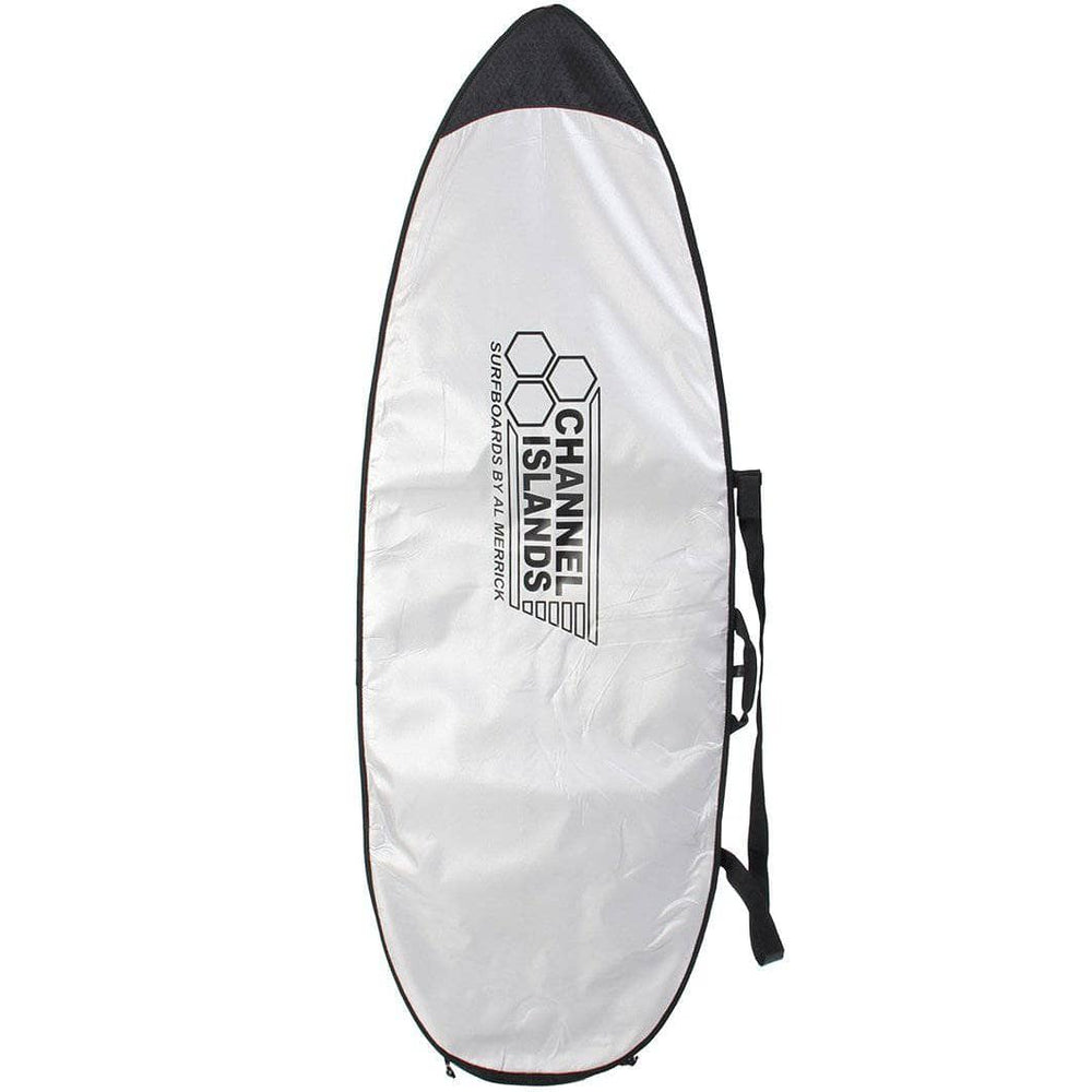 Channel Islands CI Team Lite Surfboard Board Cover - Silver Surfboard Day Runner Bag/Cover by Channel Islands