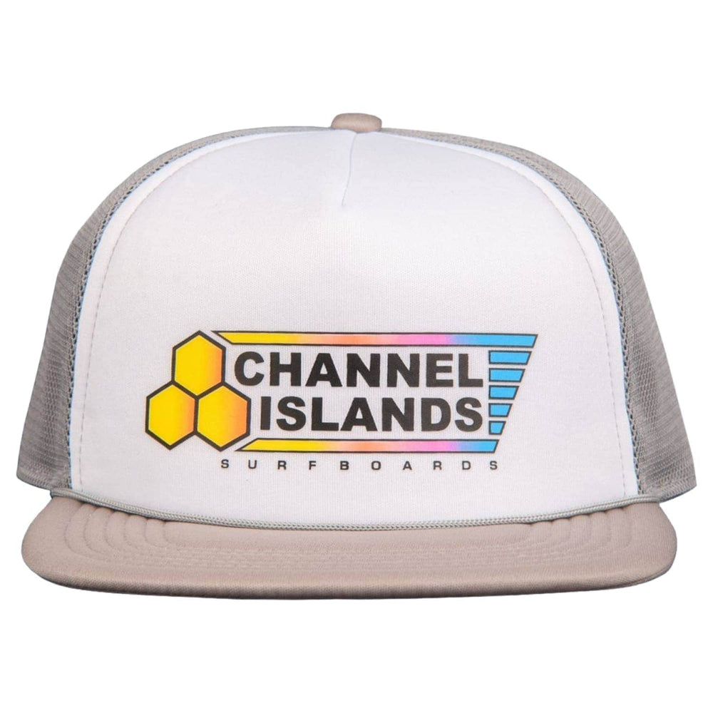 Channel Islands Fade Flag Trucker Cap - Grey - O/S (one size)
