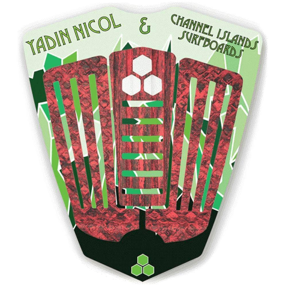 Channel Islands Yadin Nicol Deck Grip Surfboard Tail Pad - Red Camo - O/S (one size)