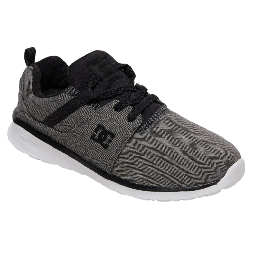 DC Boys Heathrow TX SE Shoes in Dark Grey Dark Grey (DGY) - Boys Skate Shoes by DC 2 UK