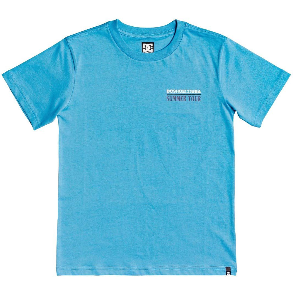 DC Boys Summer Tour T-Shirt - Bonnie Blue
