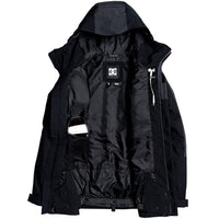 DC Defiant Snow Jacket - Black Mens Snowboard/Ski Jacket by DC