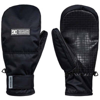 DC Franchise Snowboard / Ski Mitten - Black Snowboard/Ski Gloves by DC