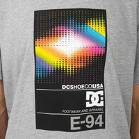 DC Home Video T-Shirt - Grey Heather Mens Graphic T-Shirt by DC
