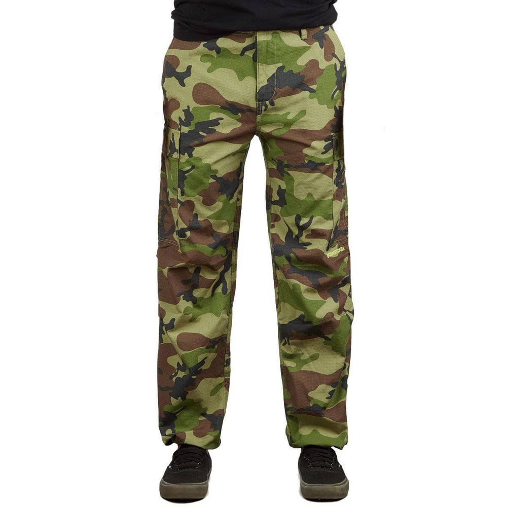 DC Infield Pants Camo Mens Cargo Pants/Trousers by DC