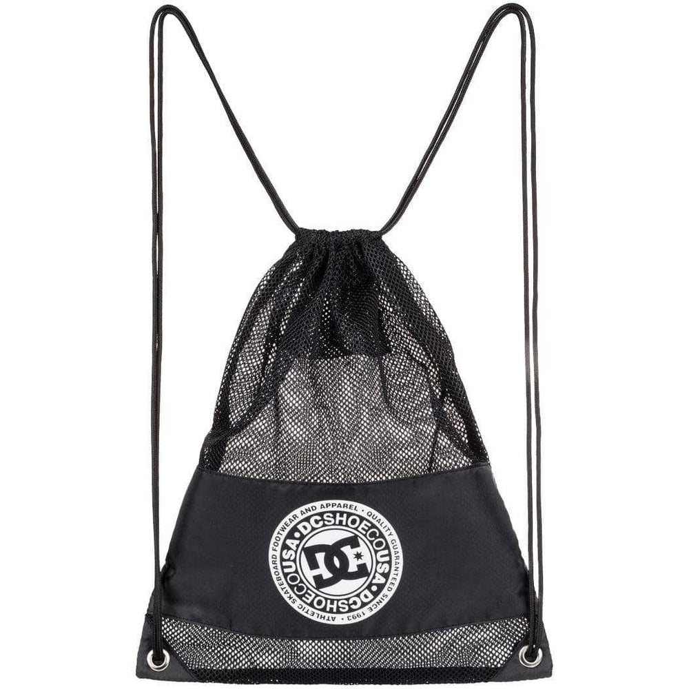 DC Jim Cincher Drawstring Bag - Black Backpack/Rucksack Bag by DC