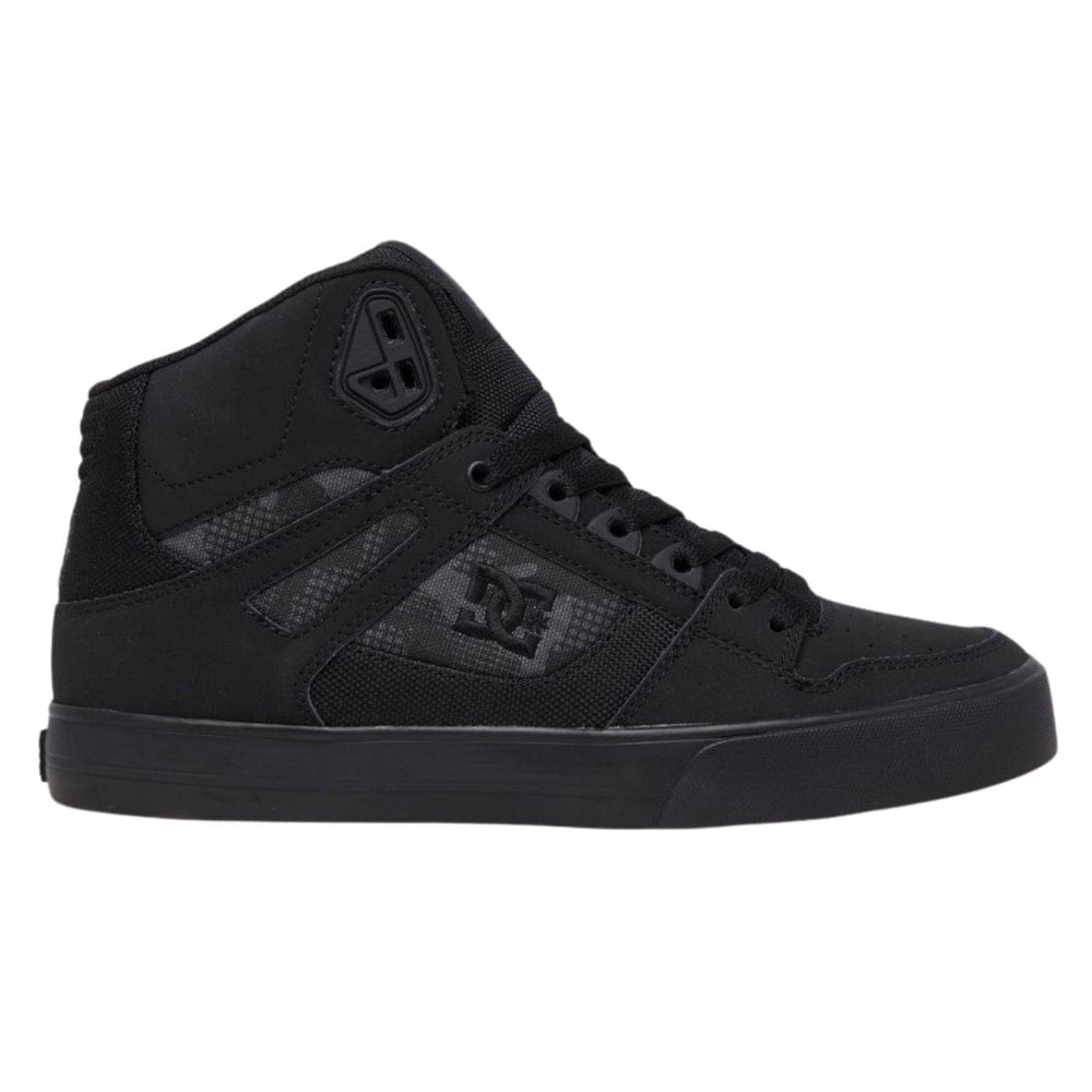 DC Pure High-Top WC Shoes - Black Camo (BCM)