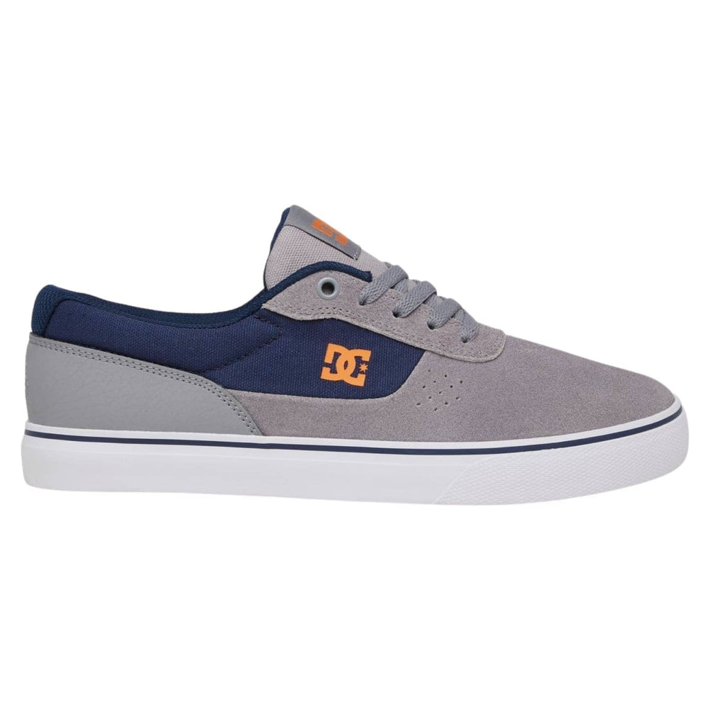 DC Switch Skate Shoe - Grey/Orange/Grey (XSNS)