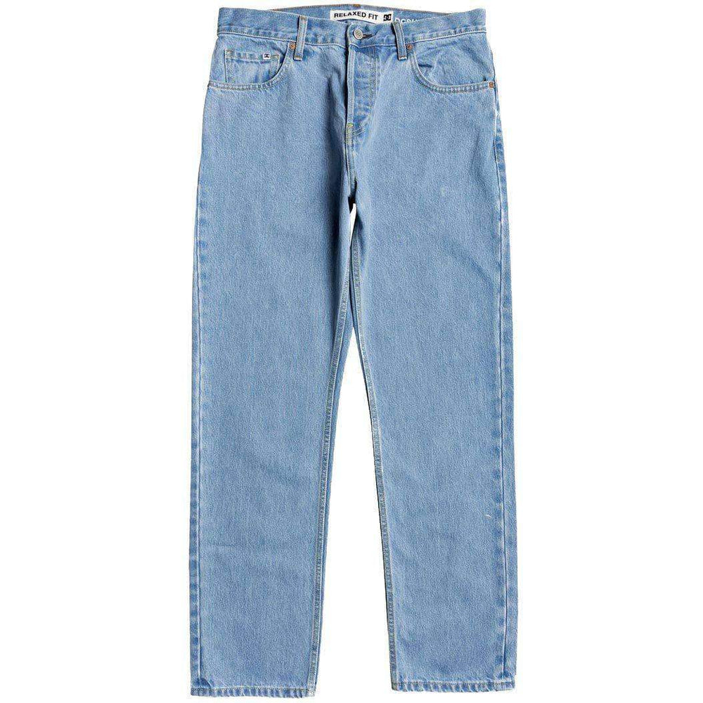 DC Worker Relaxed Denim Jeans - Vintage Bleach