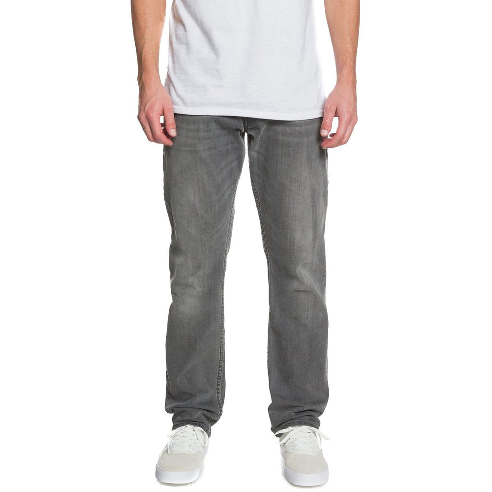 DC Worker Straight Denim Jeans - Light Grey