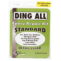 Ding All Standard Epoxy Repair Kit N/A 3oz - Epoxy Resin Surfboard Repair by Ding All