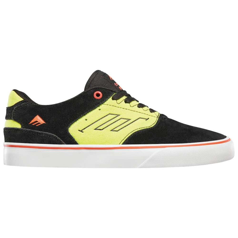 Emerica The Low Vulc Skate Shoes Black Green