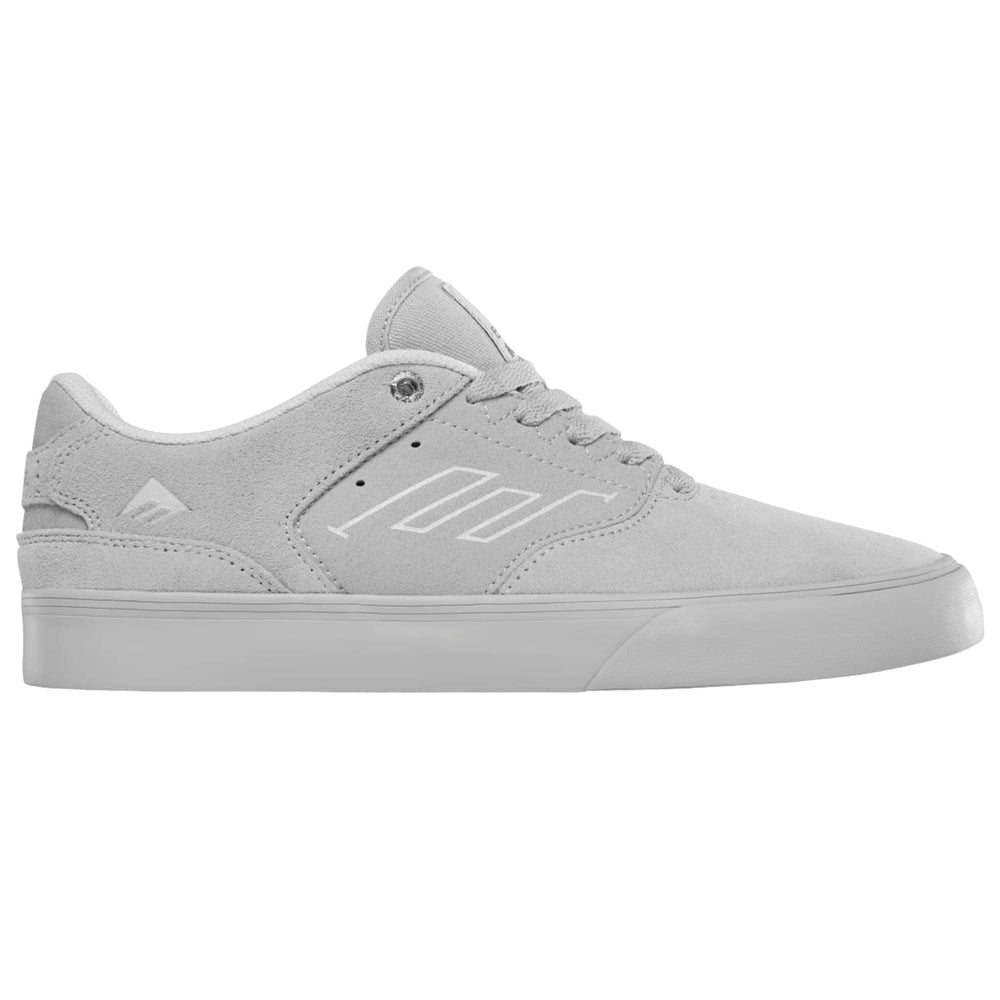 Emerica The Low Vulc Skate Shoes Grey Mens Skate Shoes by Emerica