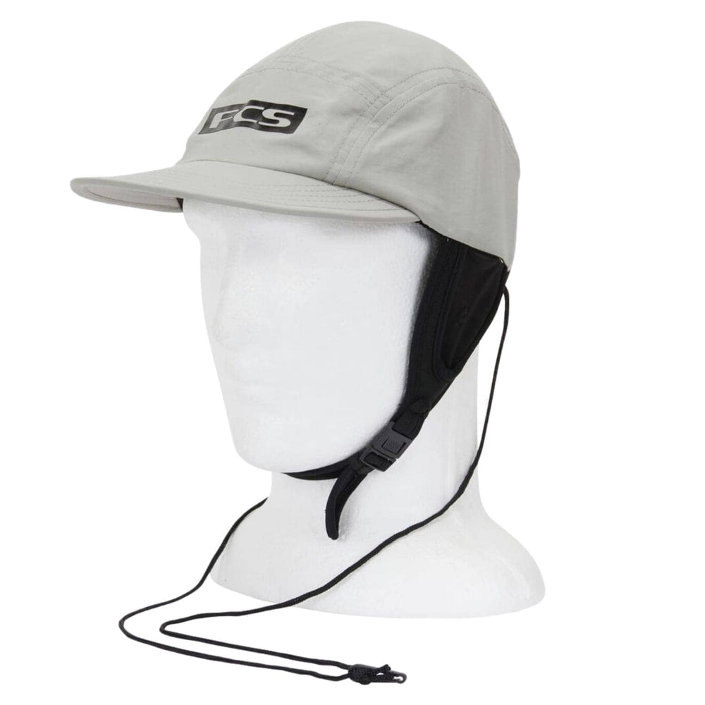 FCS Essential Surf Cap Hat Light Grey