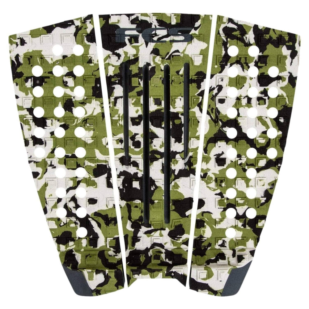 FCS Julian Wilson Tail Pad Surfboard Grip - Army Camo/Black
