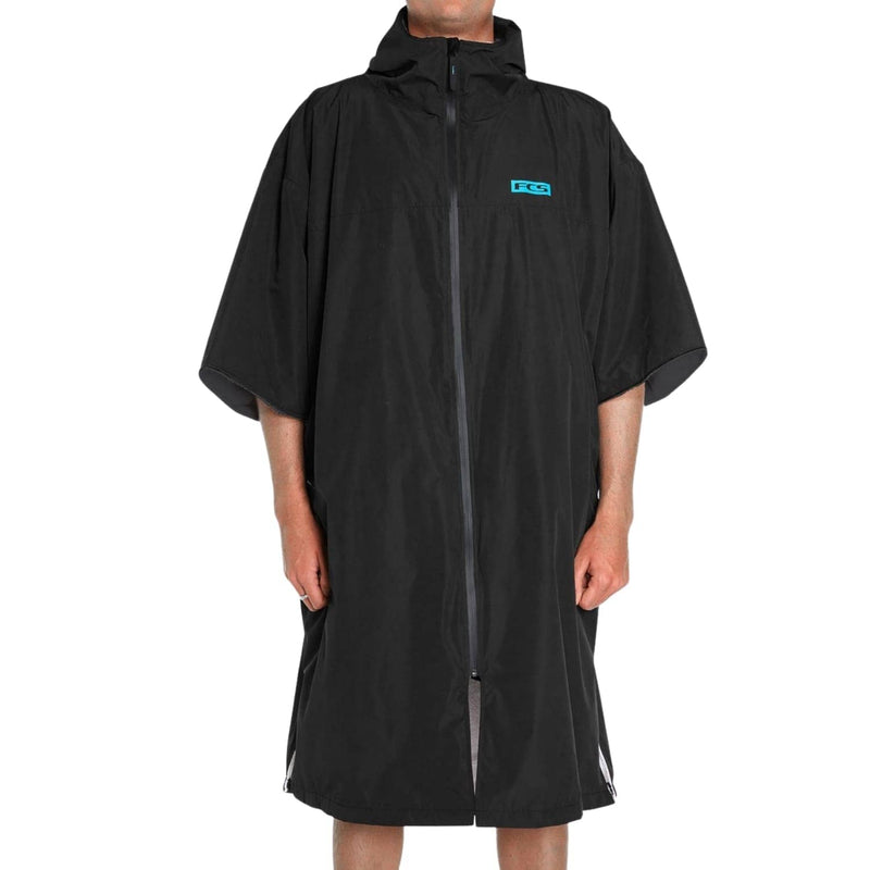 fcs-shelter-all-weather-poncho-change-robe-black-large
