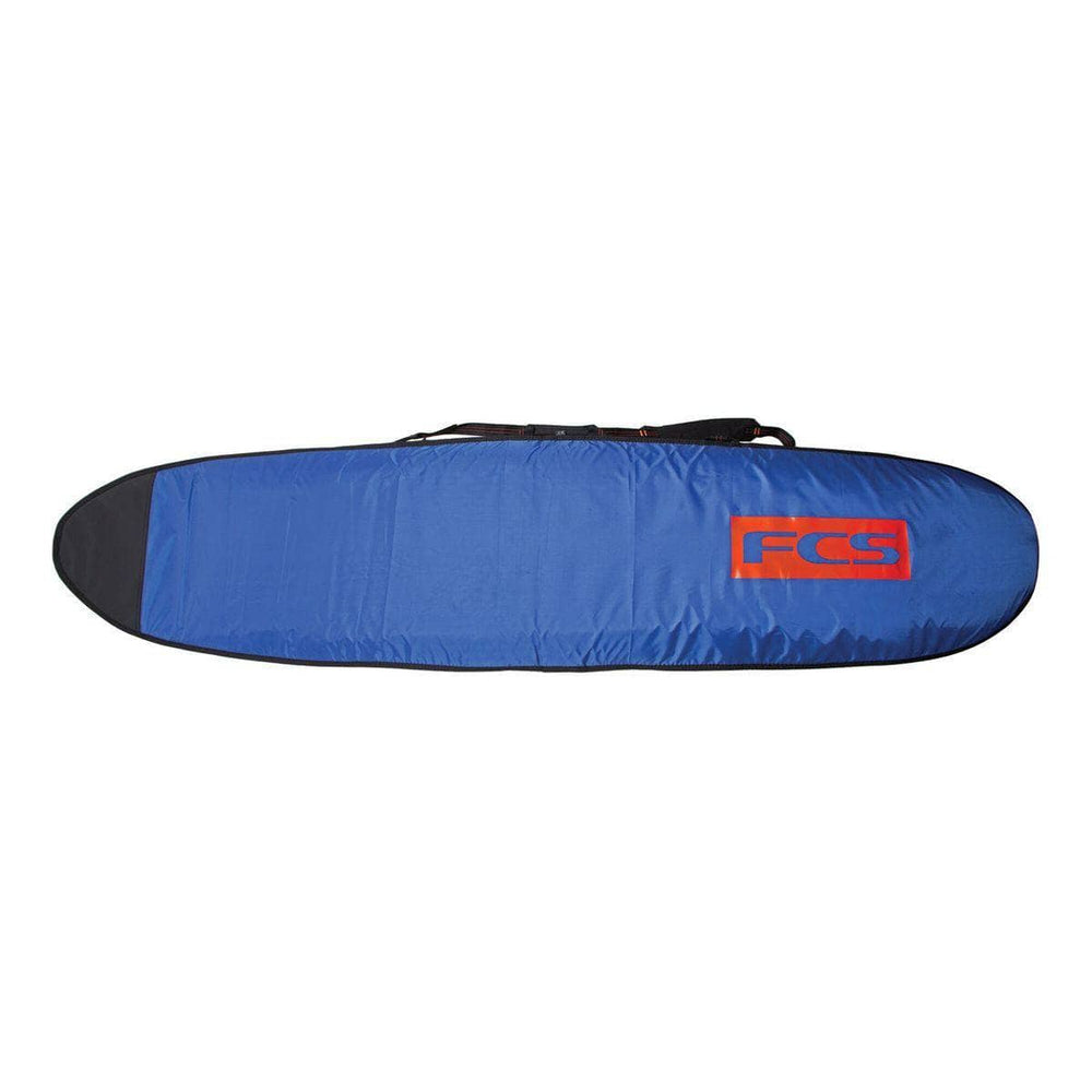 FCS 70 Classic Fun Board Cover Surfboard Bag - Steel Blue/White - Surfboard Day Runner Bag/Cover by FCS 7ft 0in
