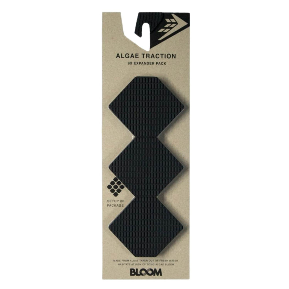Firewire Hex Expander Front Foot Traction Pad Black - Full Traction/Front Foot Surfboard Pad by Firewire