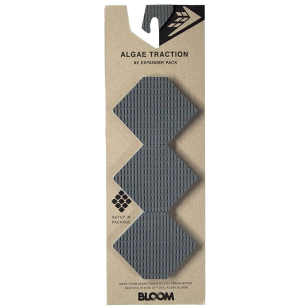 Firewire Hex Expander Front Foot Traction Pad Grey - Full Traction/Front Foot Surfboard Pad by Firewire