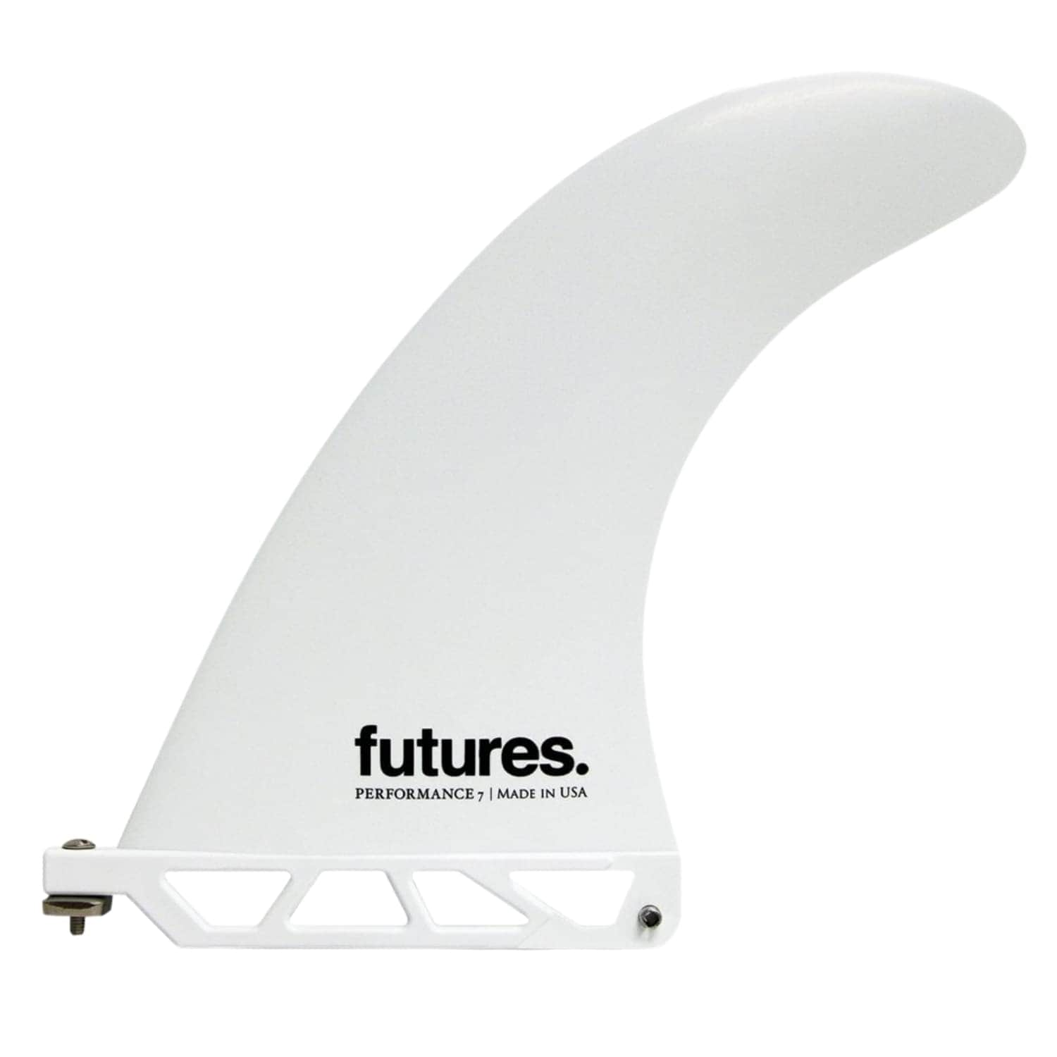 Futures Performance Thermotech Longboard Fin White 7.0in