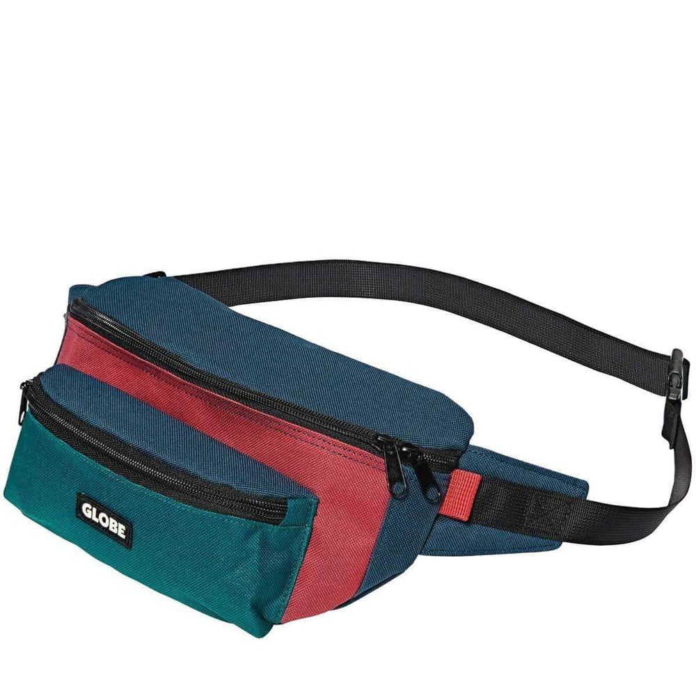 Globe Bar Waist Pack Bum Bag Multi O/S (one size) Bum Bag by Globe