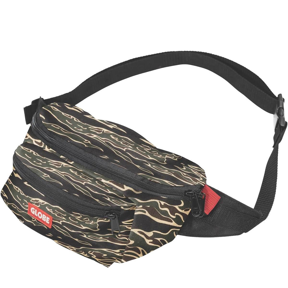 Globe Bar Waist Pack Bum Bag - Tiger Camo - O/S (one size)