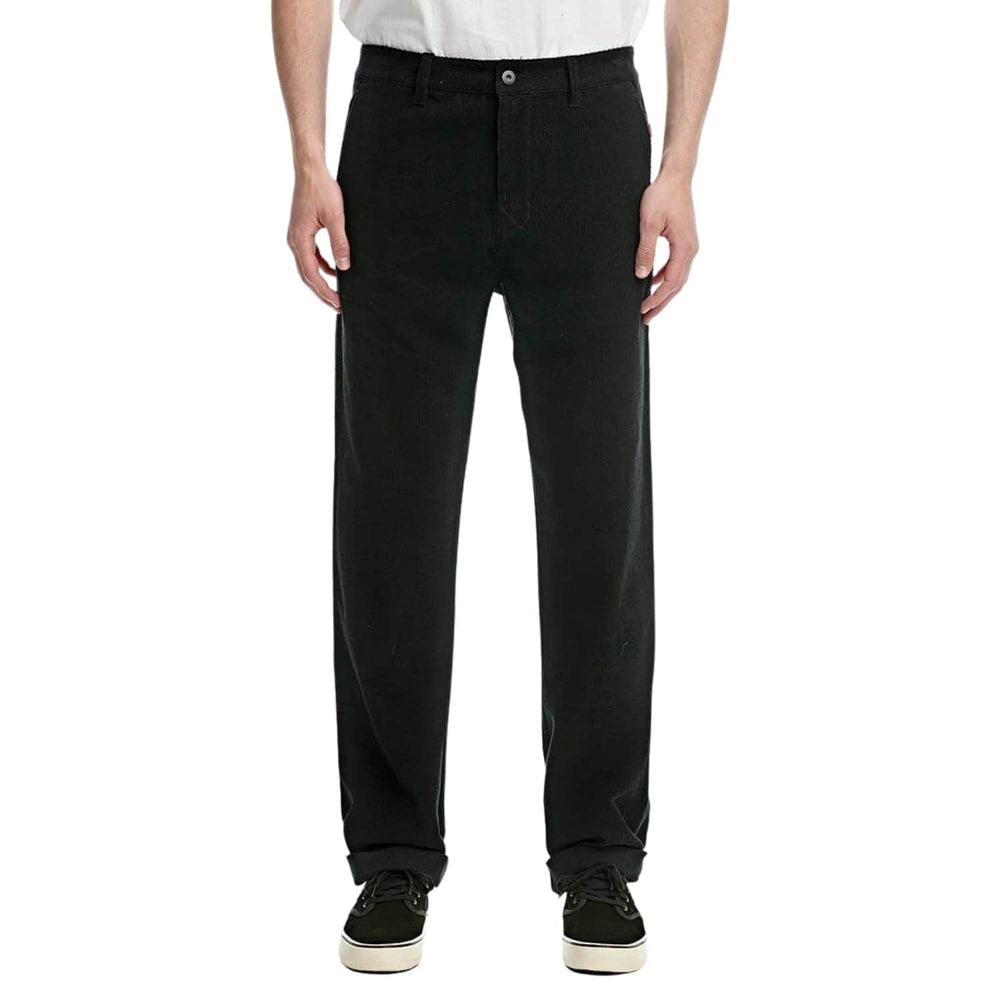 Globe Chaos Pant Straight Fit Corduroy - Black