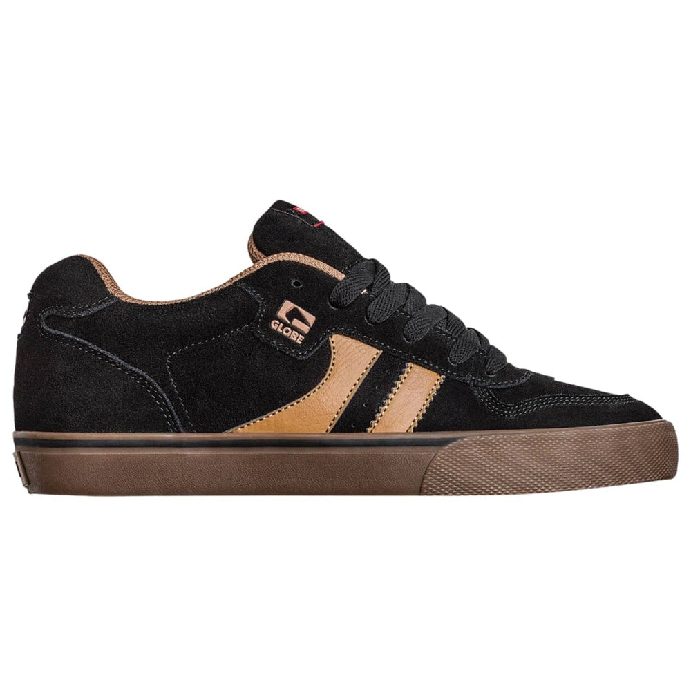 Globe Encore 2 Skate Shoes Black/Brown