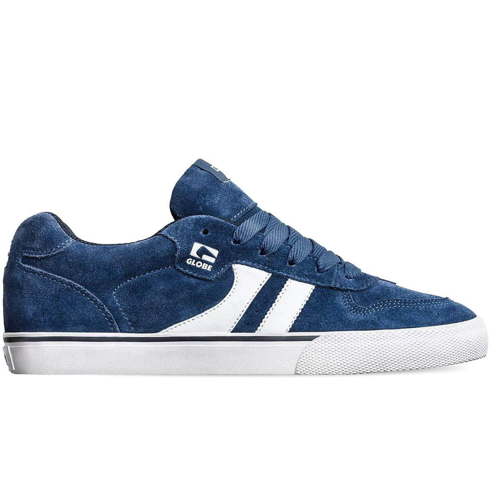 Globe Encore 2 Skate Shoes Ensign Blue/White Mens Skate Shoes by Globe
