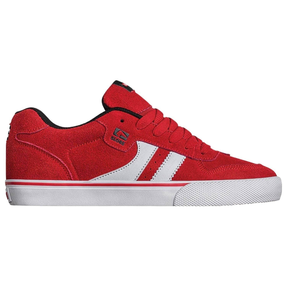 Globe Encore 2 Skate Shoes Red/White/Black - Mens Skate Shoes by Globe