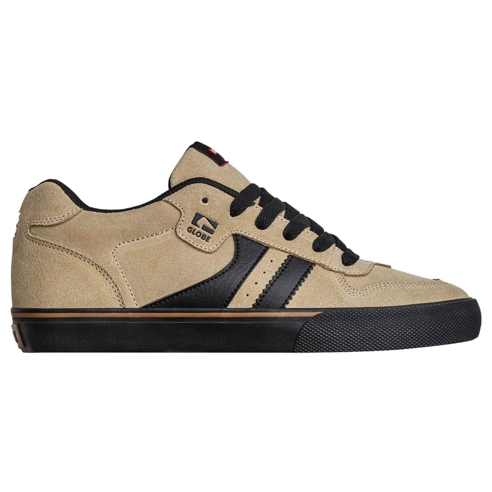 Globe Encore 2 Skate Shoes Sand/Black - Mens Skate Shoes by Globe