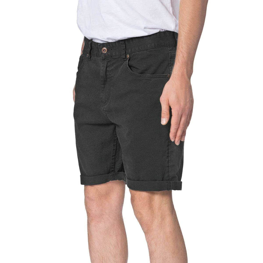 Globe Goodstock Denim Walkshort Black Mens Denim Shorts by Globe