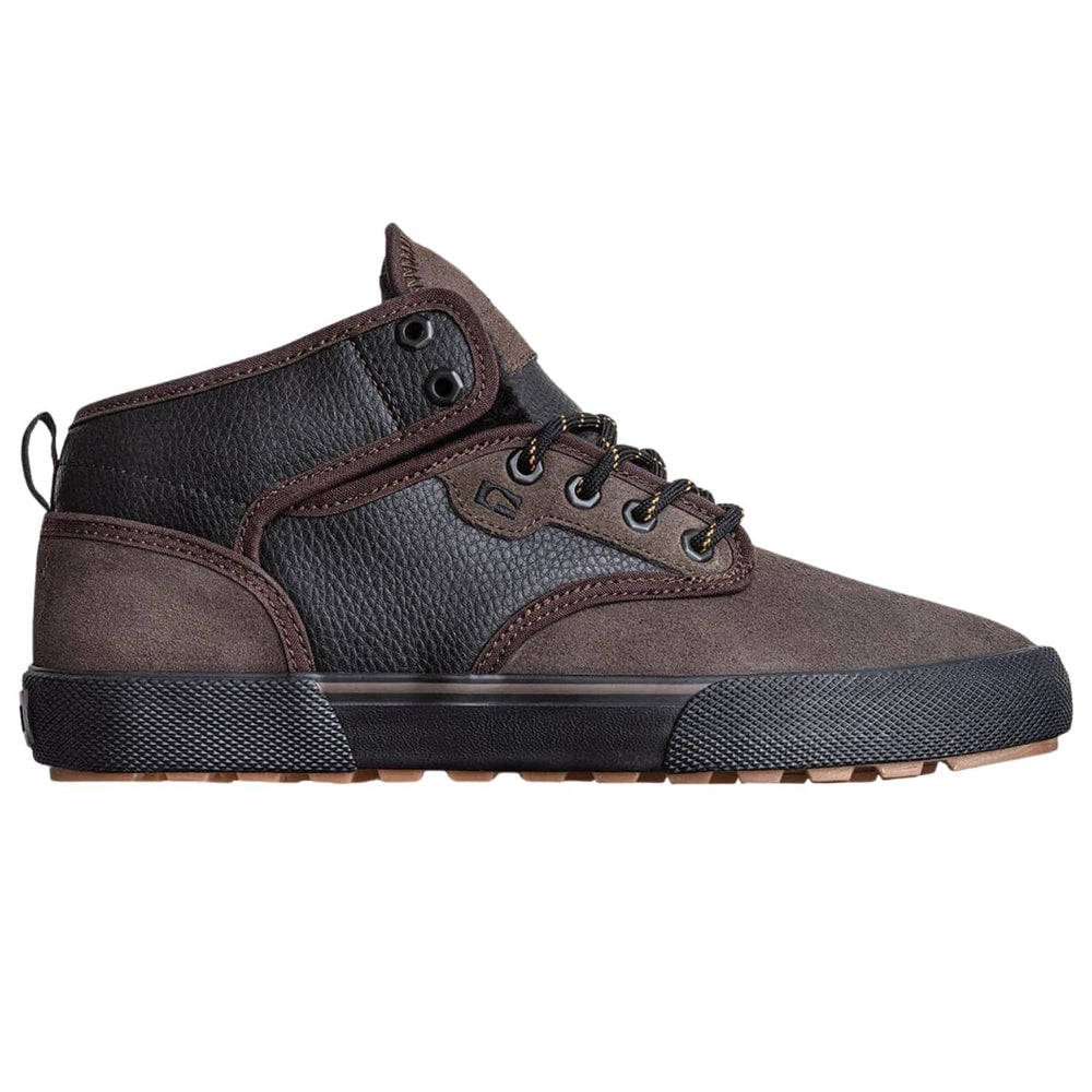 Globe Motley Mid Shoes Dark Choco/Black/Summit
