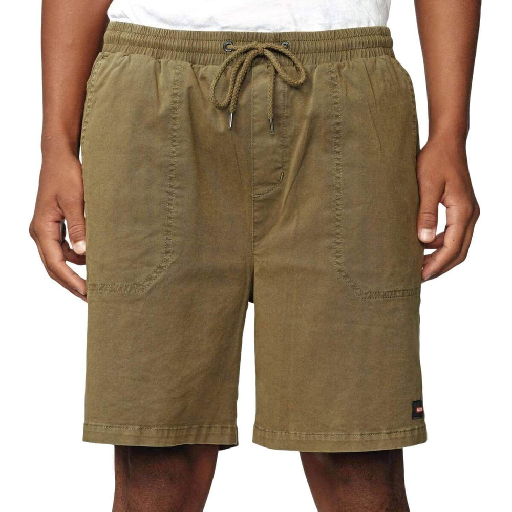 Globe Sub Title Walkshort - Field Green