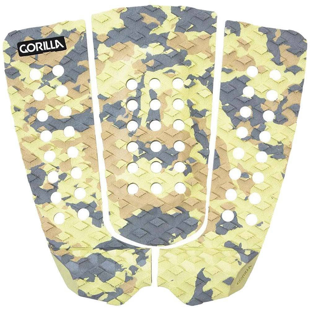 Gorilla Surf Eric Geiselman Desert Storm Surfboard Tail Pad Camo O/S (one size) 3 Piece Tail Pad by Gorilla Surf