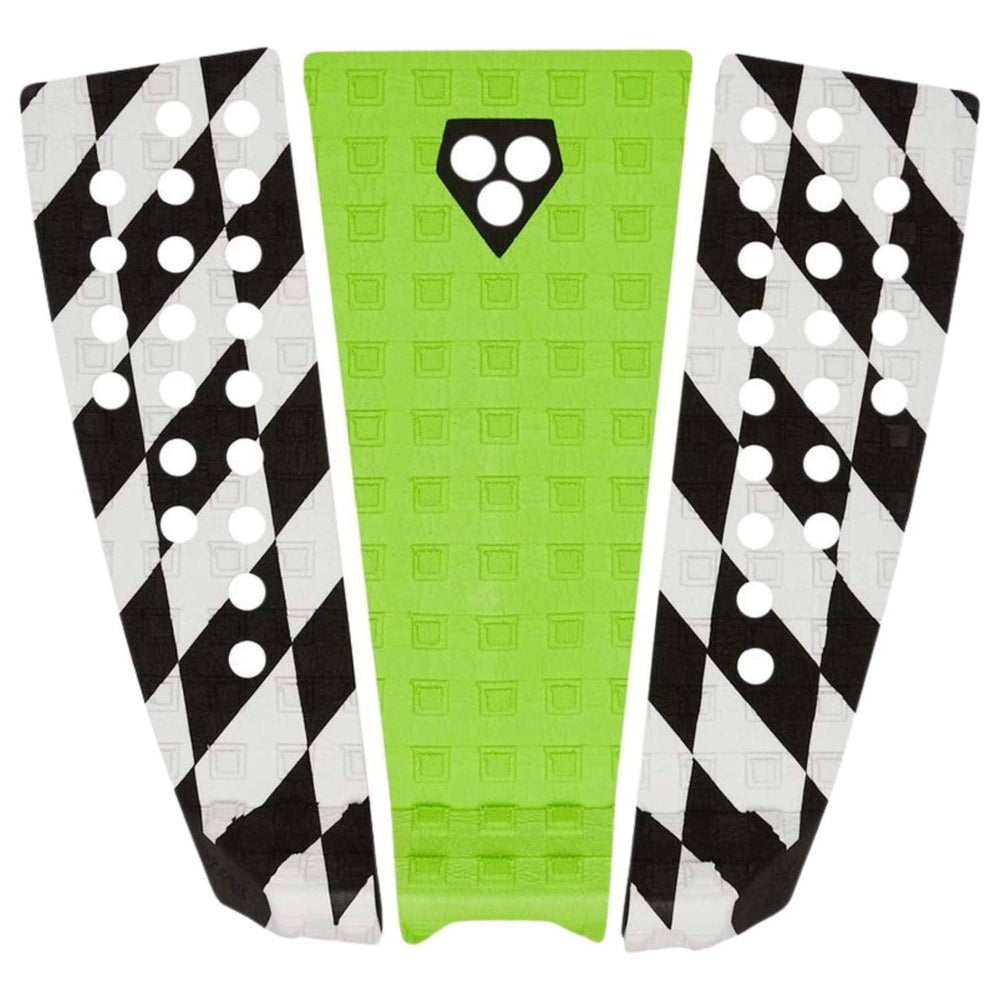 Gorilla Surf Kyuss King Green Race Check Tail Pad Green N/A - 3 Piece Tail Pad by Gorilla Surf