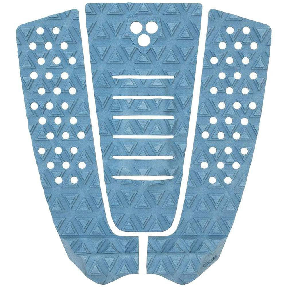 Gorilla Surf The Jane Tail Pad Surfboard Deck Grip Levi Blue 3 Piece Tail Pad by Gorilla Surf O/S (one size)