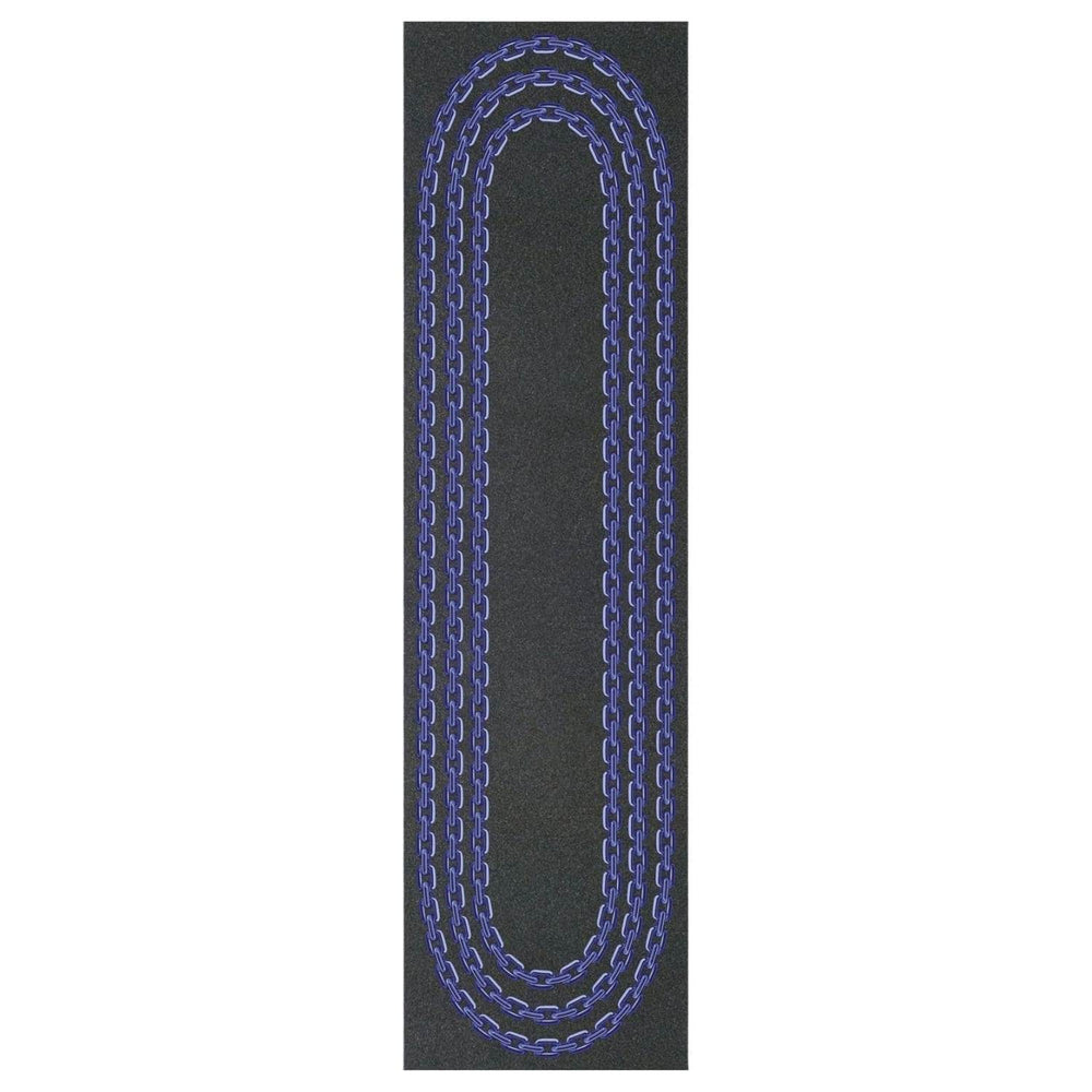 Grizzly Chain Skateboard Griptape Black 9in - Skateboard Grip Tape by Grizzly