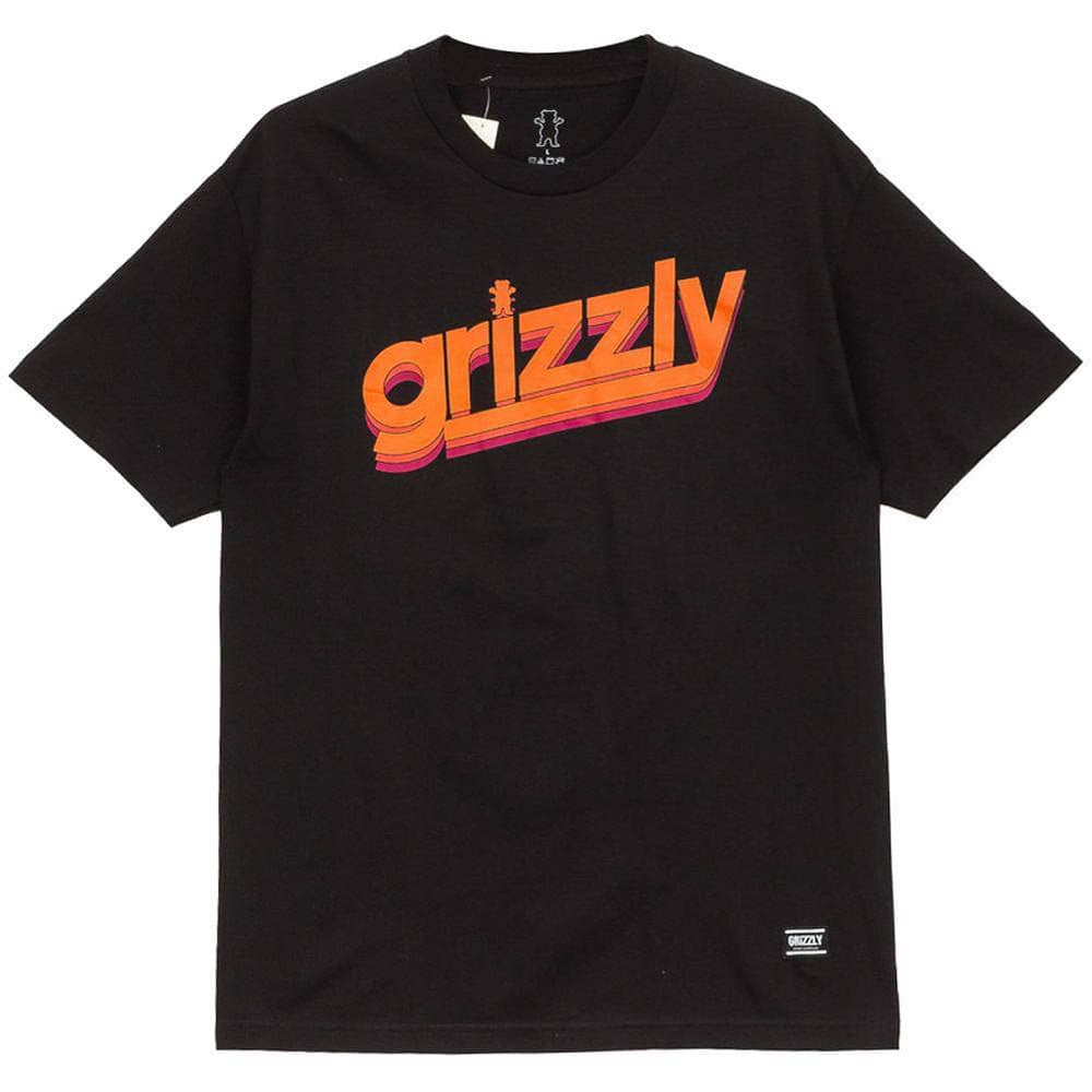 Grizzly Cubs Fast Times Youth T-Shirt - Black Boys Skate Brand T-Shirt by Grizzly