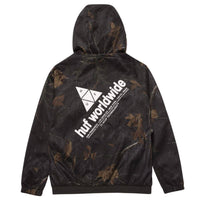 Huf Network Lightweight Jacket - Real Tree Black - Mens Windbreaker/Rain Jacket by Huf