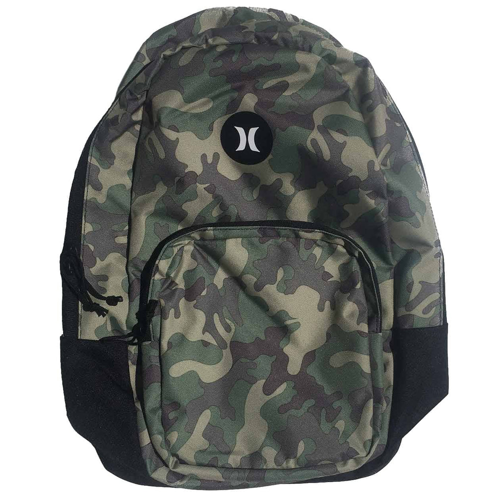 Hurley Bloke Printed Backpack Medium - Olive - O/S (one size)