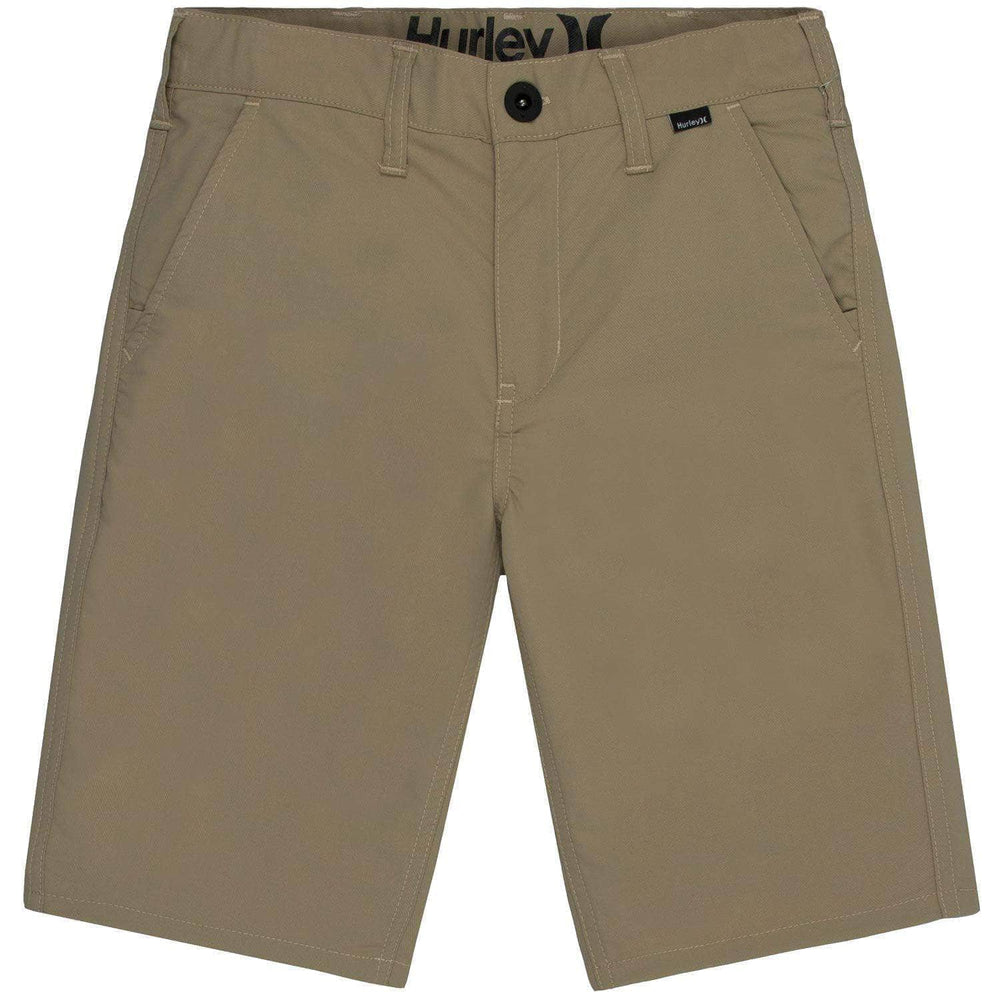 Hurley Boys Dri-Fit Chino Shorts Khaki Boys Chino Shorts by Hurley