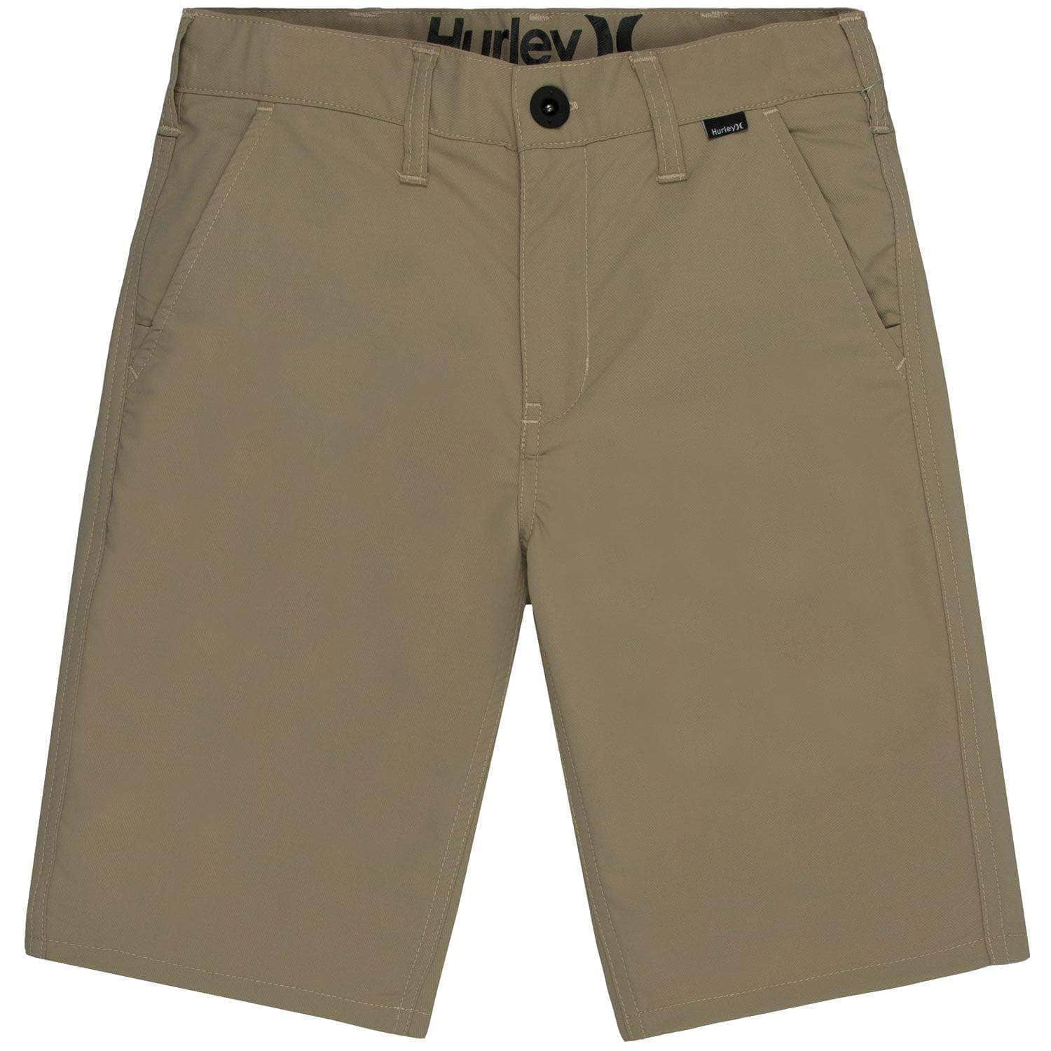 Hurley Boys Dri-Fit Chino Shorts Khaki