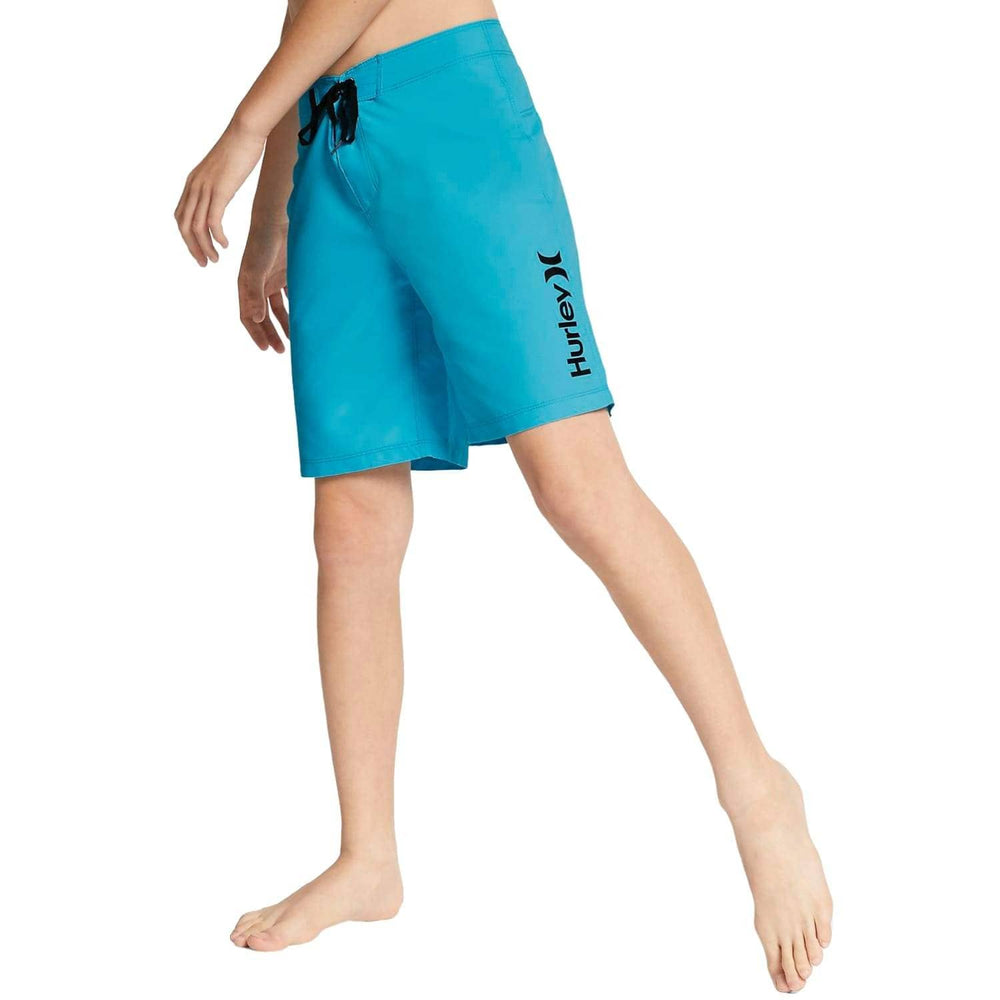 Hurley Boys One & Only Supersuede Boardshorts - Pacific Blue