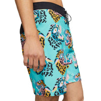 Hurley Boys Phantom Sumatra Boardshorts Pacific Blue Boys Boardshorts by Hurley