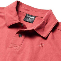 Hurley Harvey Solid Polo Shirt Cedar Mens Polo Shirt by Hurley