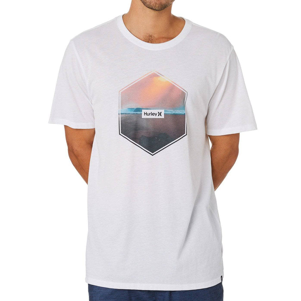Hurley Hex T-Shirt - White