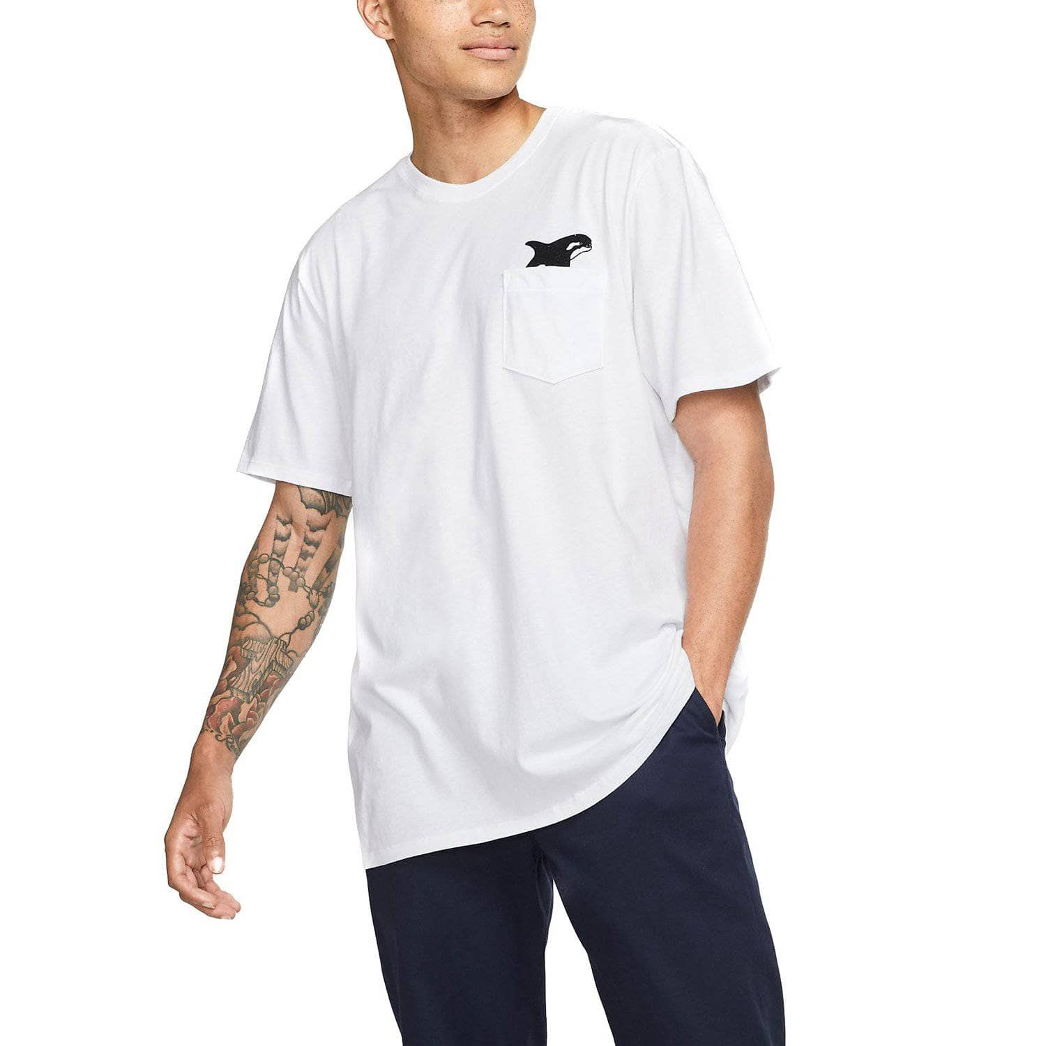 Hurley Killer Bro Pocket T-Shirt - White